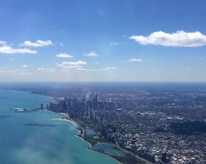 chicago from the sky